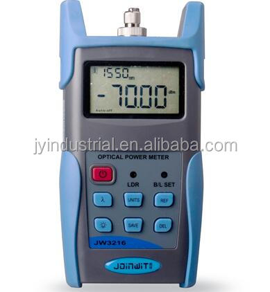 JW3216,Wavelengths Identification-1310nm/1490nm/1550nm/1625nm,optical power meter,fiber optic measurement