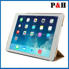 New Arrival Luxury Silk Leather Case For Apple iPad 6 / Air 2