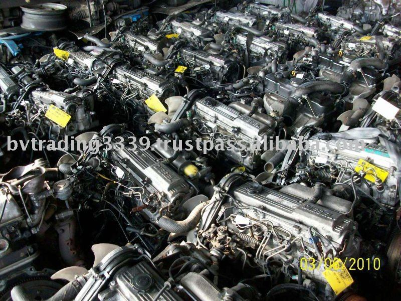USED JAPANESE DIESEL CAR ENGINES