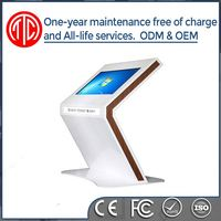 2016 new arrival elegent lcd digital signage display shopping mall kiosk design