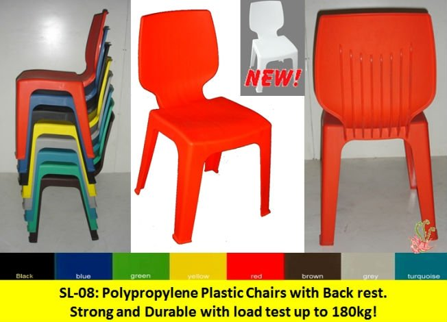 Polypropylene Plastic chairs