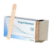 Private label Disposable Wooden Tongue Depressor wax spatula