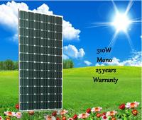 TOP solar panel 310W mono solar panel manufactory in China