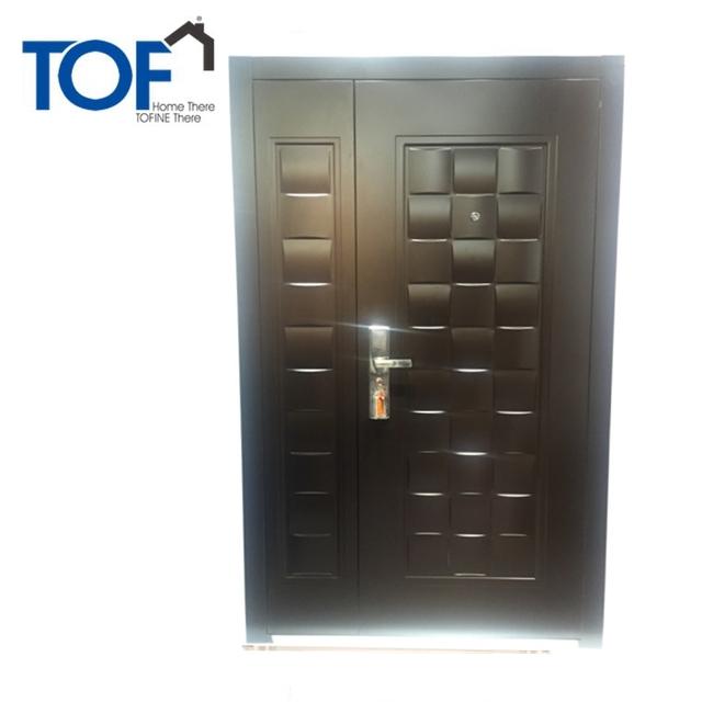 China Wholesale Front Door Designs Steel With 2 Panel Mahogany Exterior  Doors