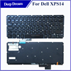 For dell XPS 14 black LA Spanish keyboard laptop with detachable keyboard L501X