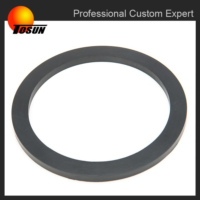 ISO 9001 certificated free of burrs moulded rubber gasket window profile