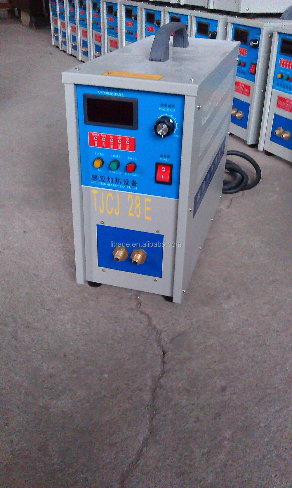 Chinese Automatic induction welding machine for band saw blade
