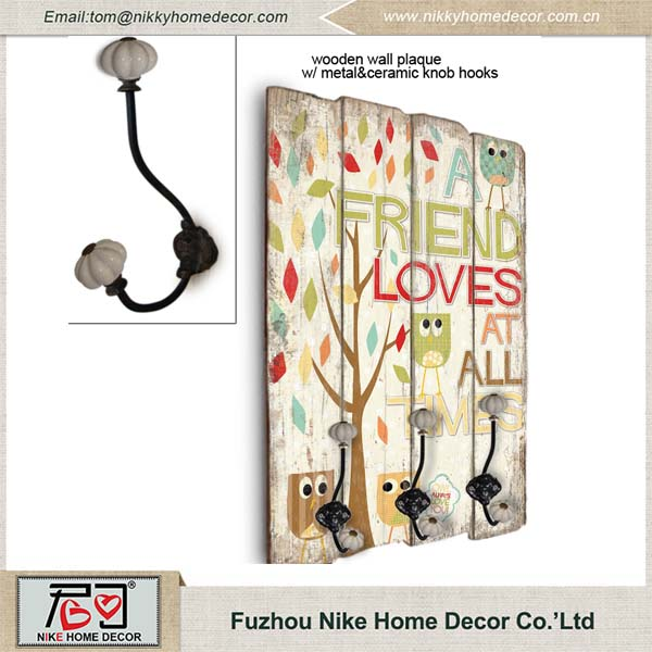 China Wholesale Shabby Chic Home Decor Wooden Craft For