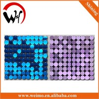 2015 New sequin panel interior decoration items