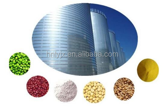 Hot sale grain silos for wheat flour mills 1000T steel structure silos
