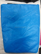 blue sheet plastic cover