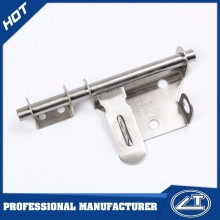 High Quality Stainless steel T type Door Bolt Lock Latch Slide Barrel Bolt