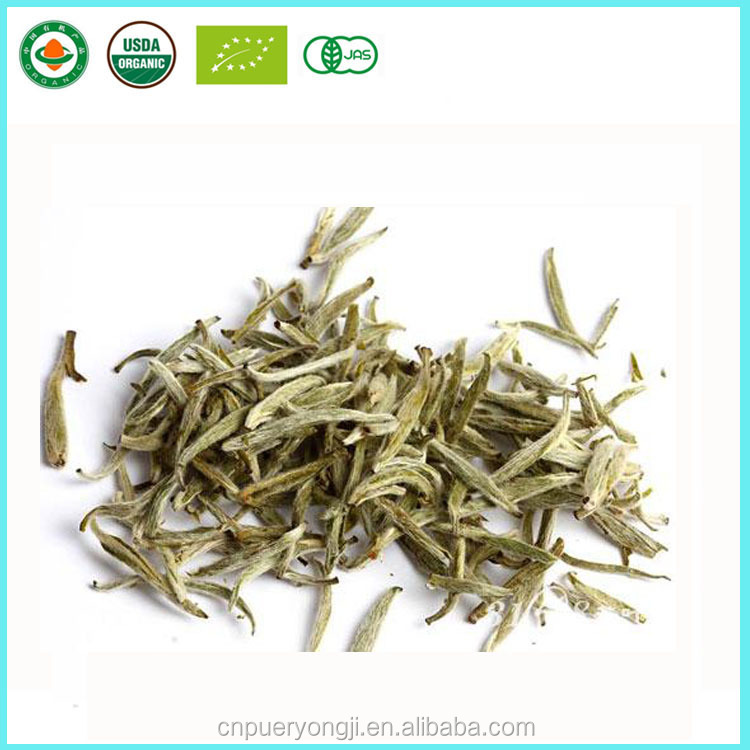 Healthy bai hao silver needle organic white tea loose leaf tea