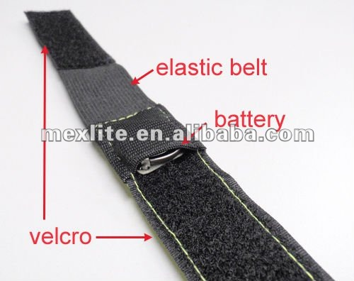 Reflective Flashing Wristband For Jogging Cycling