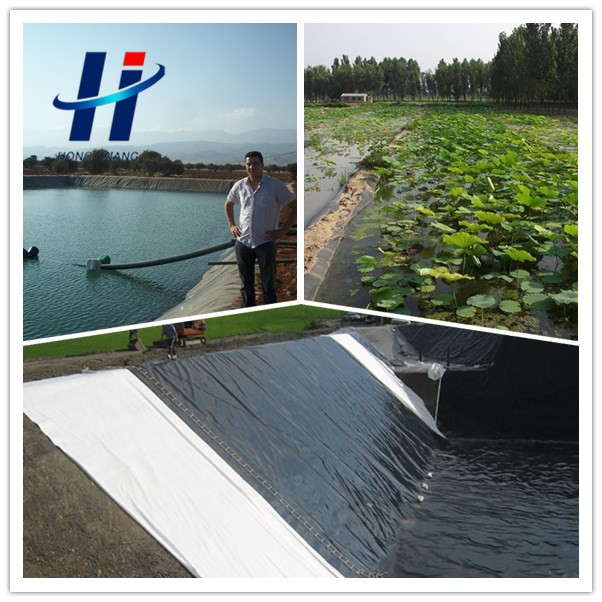 Artificial pond liner black polyethylene sheet hdpe for Artificial fish pond