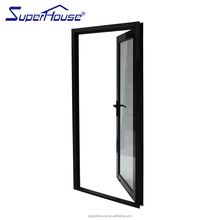 superhouse aluminium double swing door for commercial with Australia AS2047 AWA standard