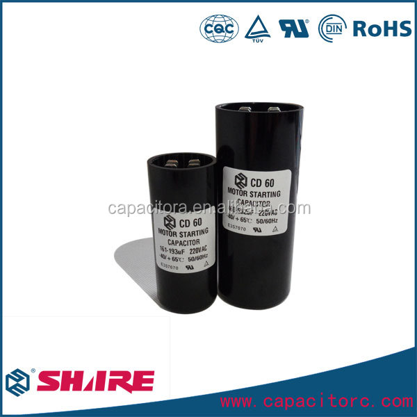 80uf CD60 Series AC Motor Start Capacitor 250V