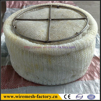 best price stainless steel knitted wire mesh demister