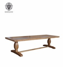 Oak Restaurant Dining Table Solid Wood