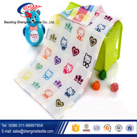 Premium quality and custom design baby face towel
