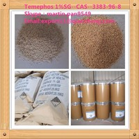Widely used, effecive insecticide Temephos 1%SG , CAS 3383-96-8