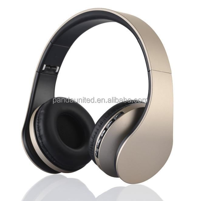 Best Selling Noise Cancelling Fold-able Silent Disco Wireless Headphone with MP3 Player