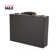 Fashion custom accepted PU carrier case leather wine bottle box