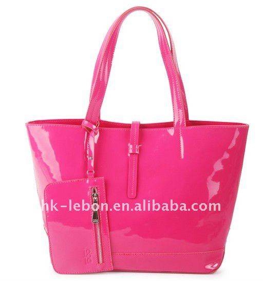 fashion 100% real leather laidies TOTE