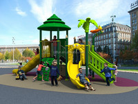 CE approved children woods series outdoor playground for garden CIT-15030D