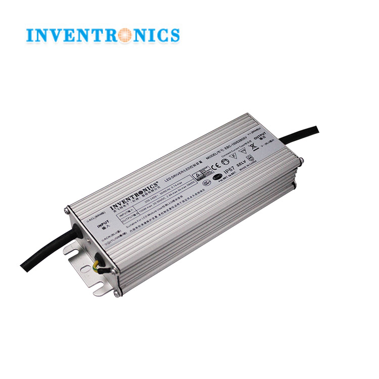 Inventronics 220V IP67 Waterproof Electronic 100 Watt Constant Current DC Done LED Power Driver IC 100W