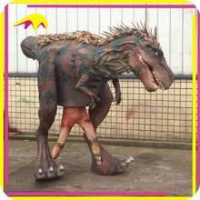 KANO1159 Zoo Decoration Highly detailed Indoor Dinoaur Costume Animatronic For Adult