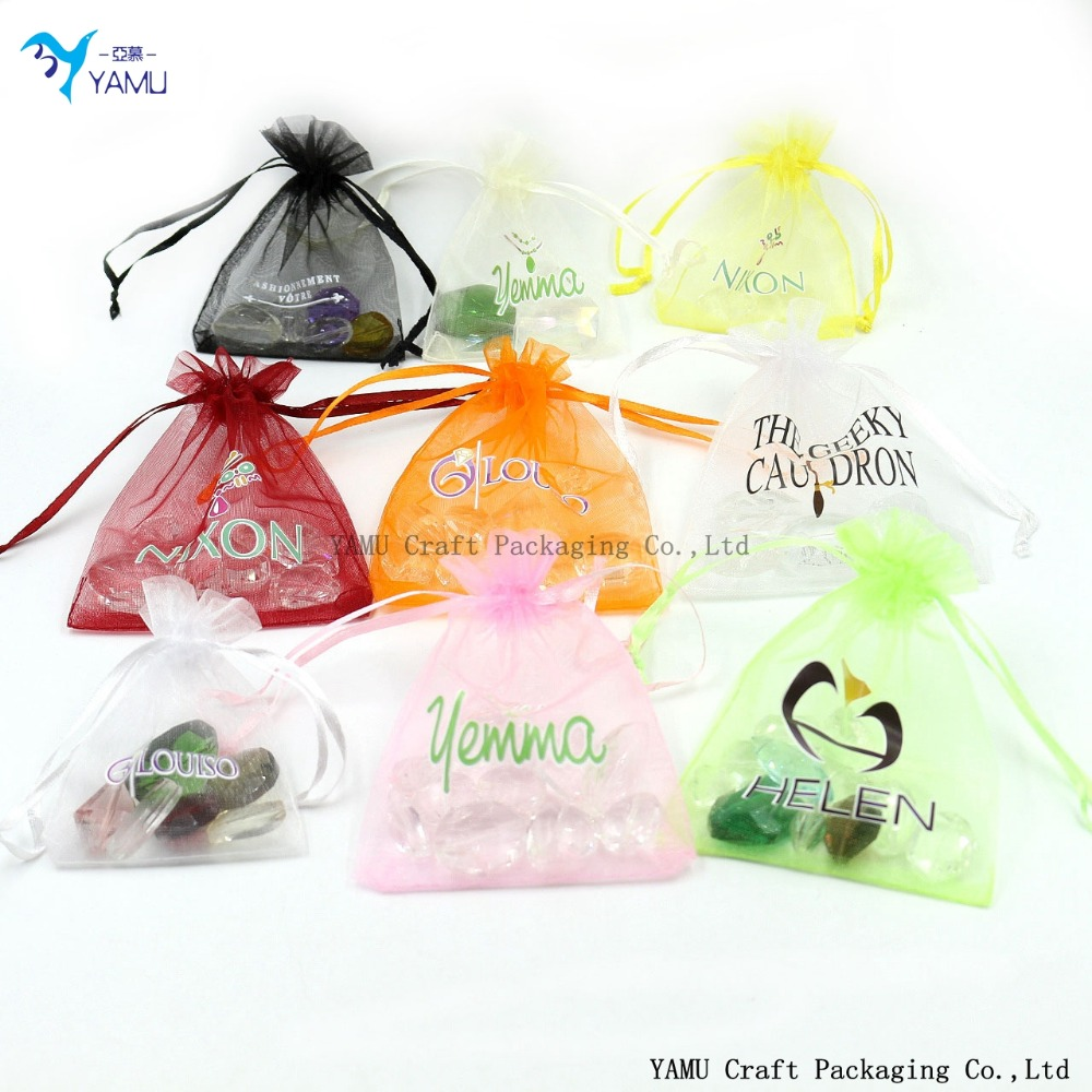 factory prices organza bags wholesale/Fabric Printing Pouch