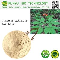 TOP Quality Cosmetics Raw Ginseng Extracts For Hair