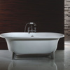 DM1101Shaoxing Domal free standing acrylic bathtub Wholesale Classic claw foot acrylic soaking bath tub