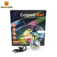 2CH Infrared Control Inductive Hover Flying Ball Helicopter with LED Flashing Light Toys