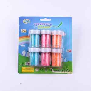 colorful glitter powder school painting toy 20g