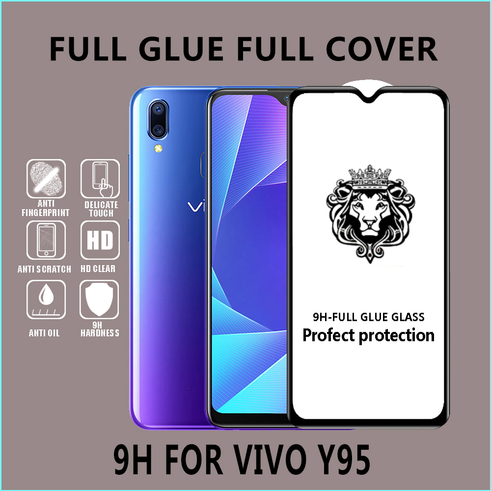 5D 6D  wholesale  Mobile Touch screen protector tempered glass  for ViVO  V15 PRO V11I XZ3 Y81 Y93 Y95