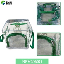 Voting PVC bags with zipper, multipurpose clear PVC bag /box