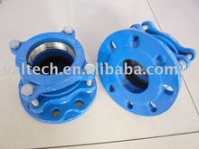 PE pipe restrained flange adaptor