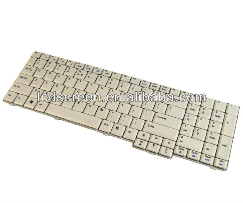 Wholesale Brand New replacment laptop US keyboard for Acer Aspire 7720 notebook keyboard for sal