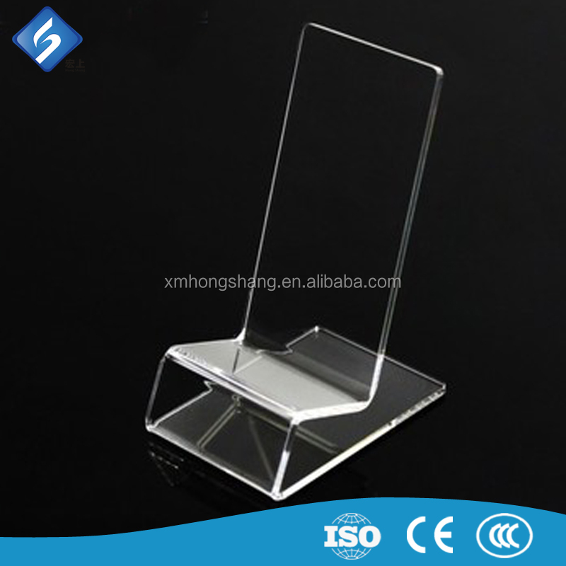 2016 Clear Acrylic Mobile Phone Holder /Display Stand