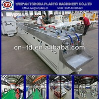 small PVC twin pipe extruding line