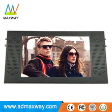 15.6 inch bus 24V lcd monitor bus advertising display