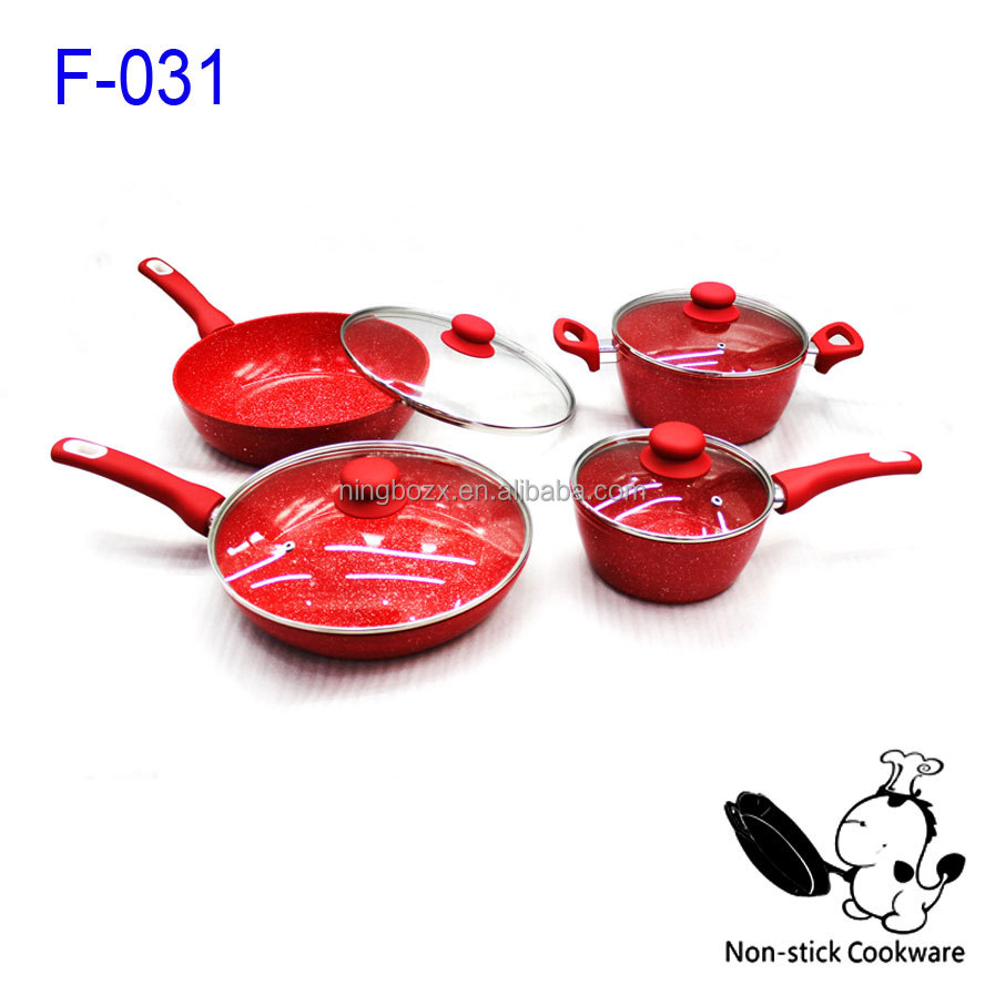 Forged Aluminum Cookware Non-stick Cookware Set High Quality Cookware