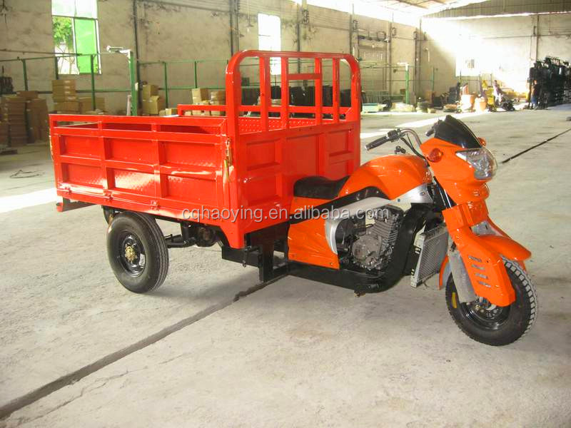 Best quality three wheel large cargo motorcycle on sale