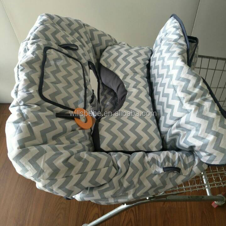 Infant Cushy 2-in-1 Shopping Cart Cover with Seat Positioner for <strong>Baby</strong>