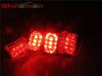 car auto 12v waterproof led flashing strobe light