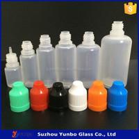 5ml 10ml 15ml 20ml 30ml 50ml 60ml PE plastic dropper bottle squeeze dropper bottle for E vapor liquid juice