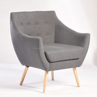 Fabric Restaurant Recliner Chair Single Seater