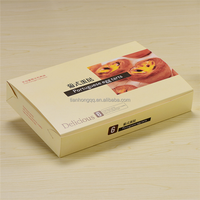 Disposable Food Touch Cardboard Egg Tart Box Bakery Box Bread box